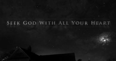 Hledej Boha z celého srdce